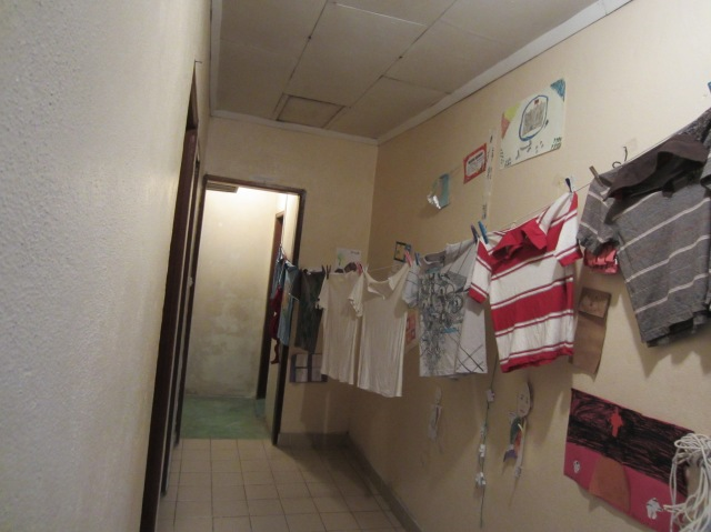 Laundry in House Cameroon