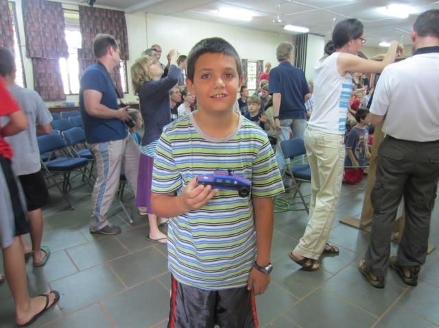 Joshua with Blaster