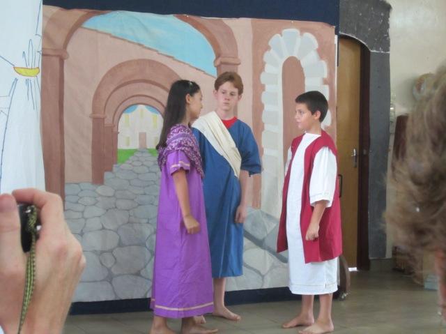 Joshua as Brutus