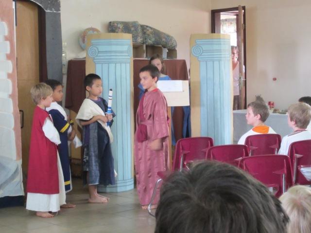 Jonah as Mark Antony