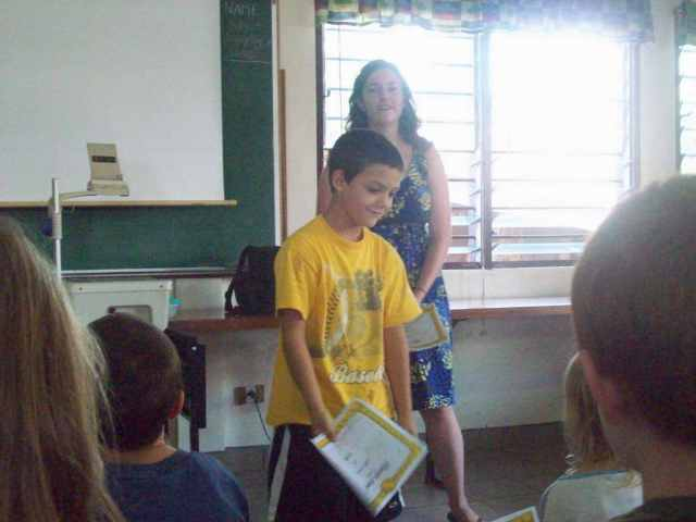 Joshua 2nd grade