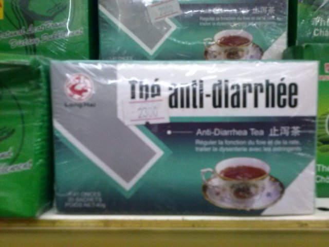 anti diarrhea tea