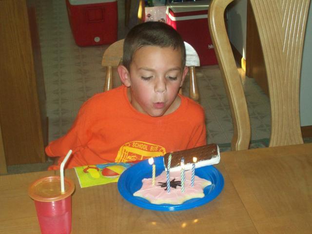 Joshua is 6