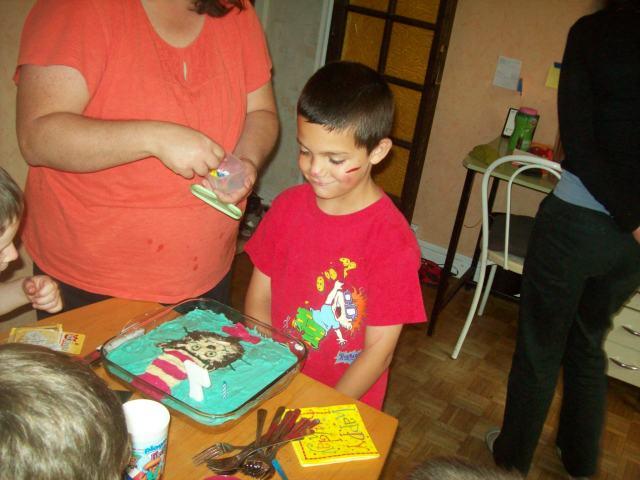 Joshua is 7
