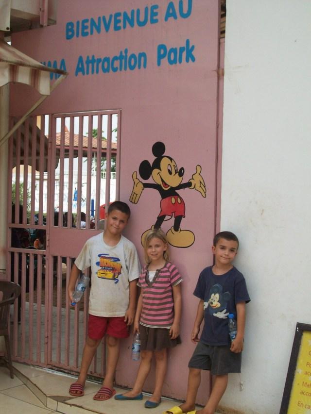 Mickey at Mahima