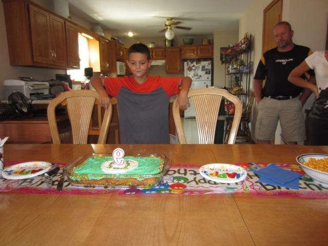 Joshua is 9