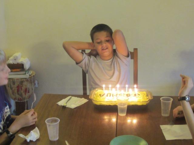 Joshua is 10