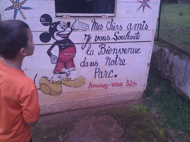 Mickey at Zoo
