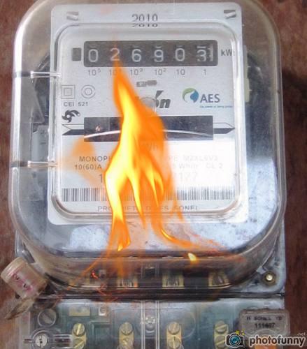 burnning meter