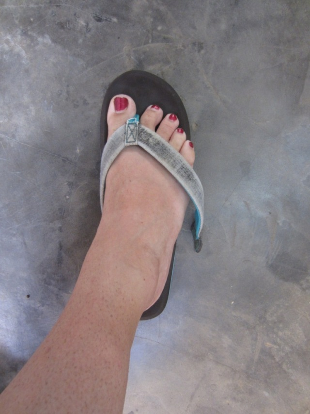broken flop
