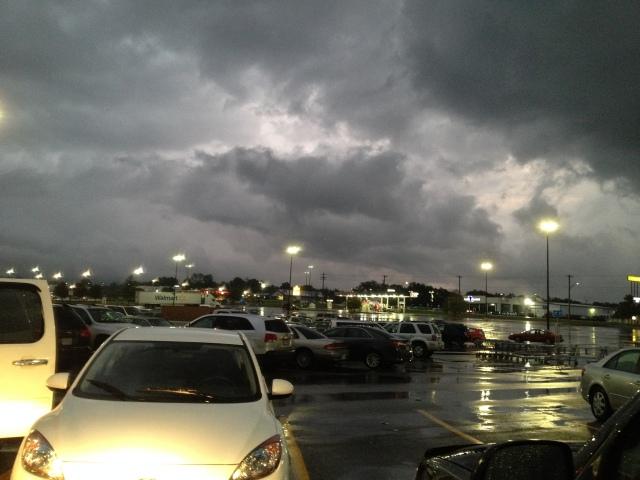 parking lot clouds