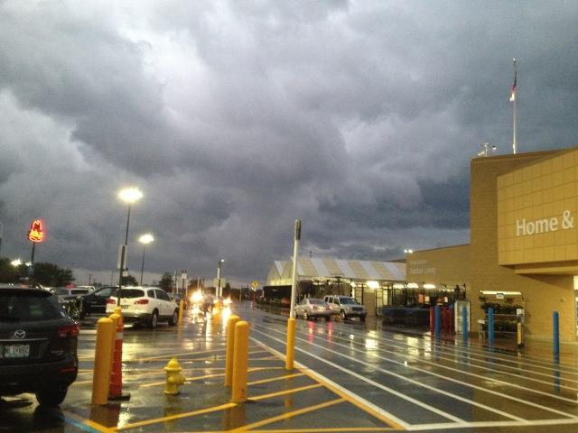 WalMart clouds